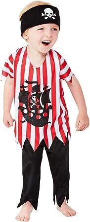 Smiffys 47702T1 - Disfraz de pirata para niños: Amazon.es ...