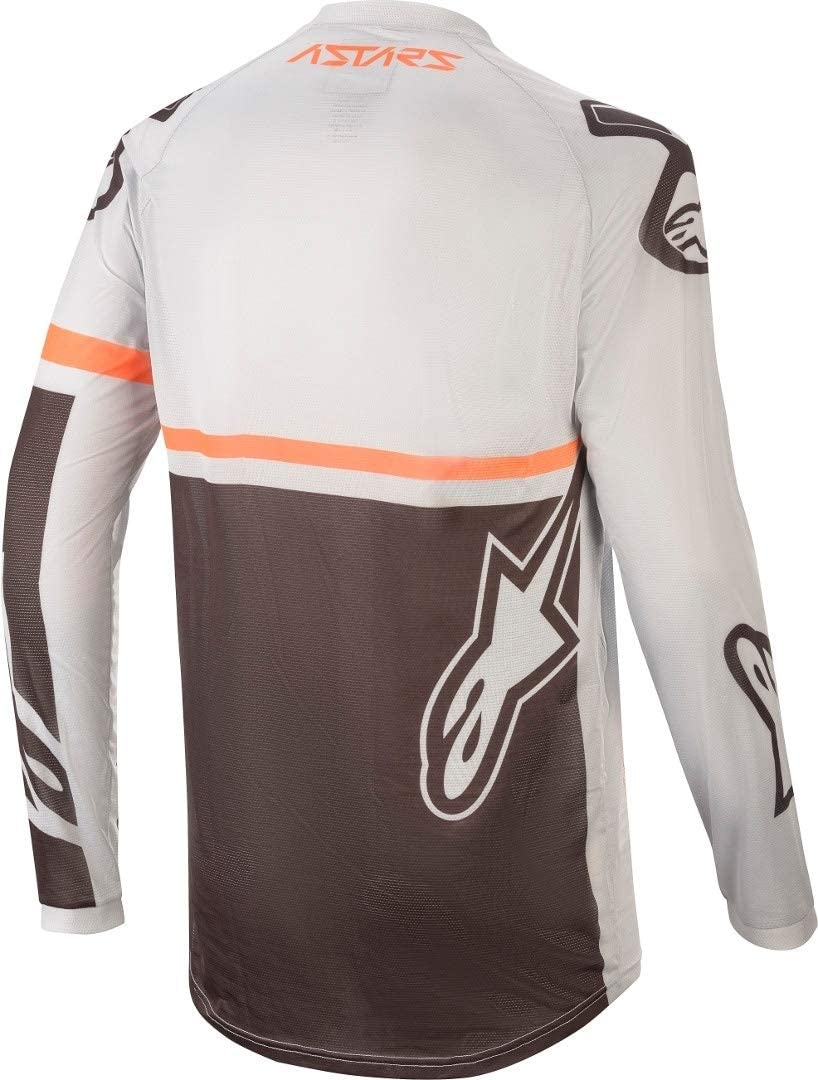 Alpinestars Jersey Racer Tech Compass Schwarz//Orange