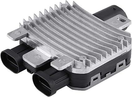 KIMISS Módulo del radiador,Módulo de Control del Ventilador de ...