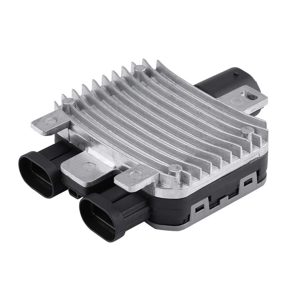 KIMISS Modulo di Controllo per Ventola di Raffreddamento radiatore in Alluminio per S60 7T43-8C609-BA 7G919A819AA