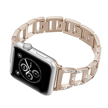 Amazon.com: Pulsera de repuesto para Apple Watch, para mujer ...