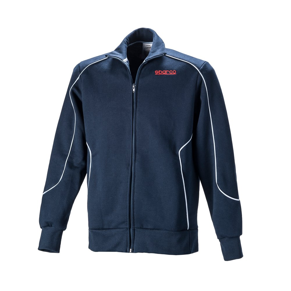 Sparco s011749bm4X L Sweatshirt Sweatshirt, Navy, Größe XL