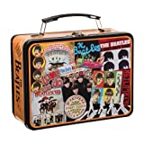 Vandor 64770 The Beatles Large Tin Tote, Multicolor