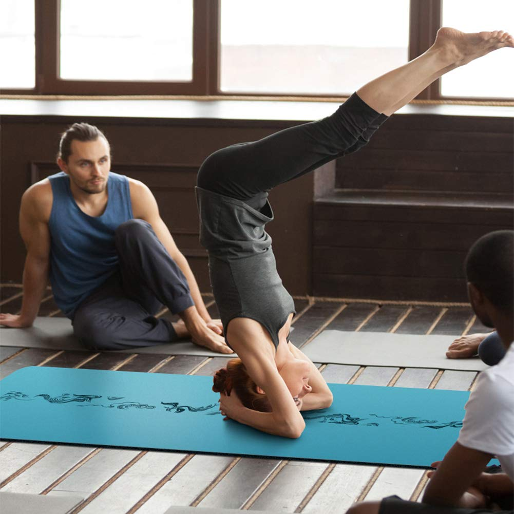 NENGGE Profesional Caucho Natural Colchoneta de Yoga No ...