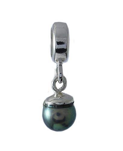 Solid Sterling Silver 925 Aladdin Magic Lamp Charm Bead C24B n2IQ2