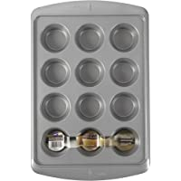 Wilton Ever-Glide Muffin Pan, Enjoy Warm homemade Muffins Right Out of Your Oven, Great for Cupcakes, Roasted Veggies…