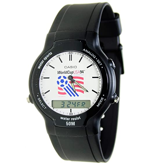 Reloj Casio SWC-03 Coleccion Oficial Watch of World Cup USA 94