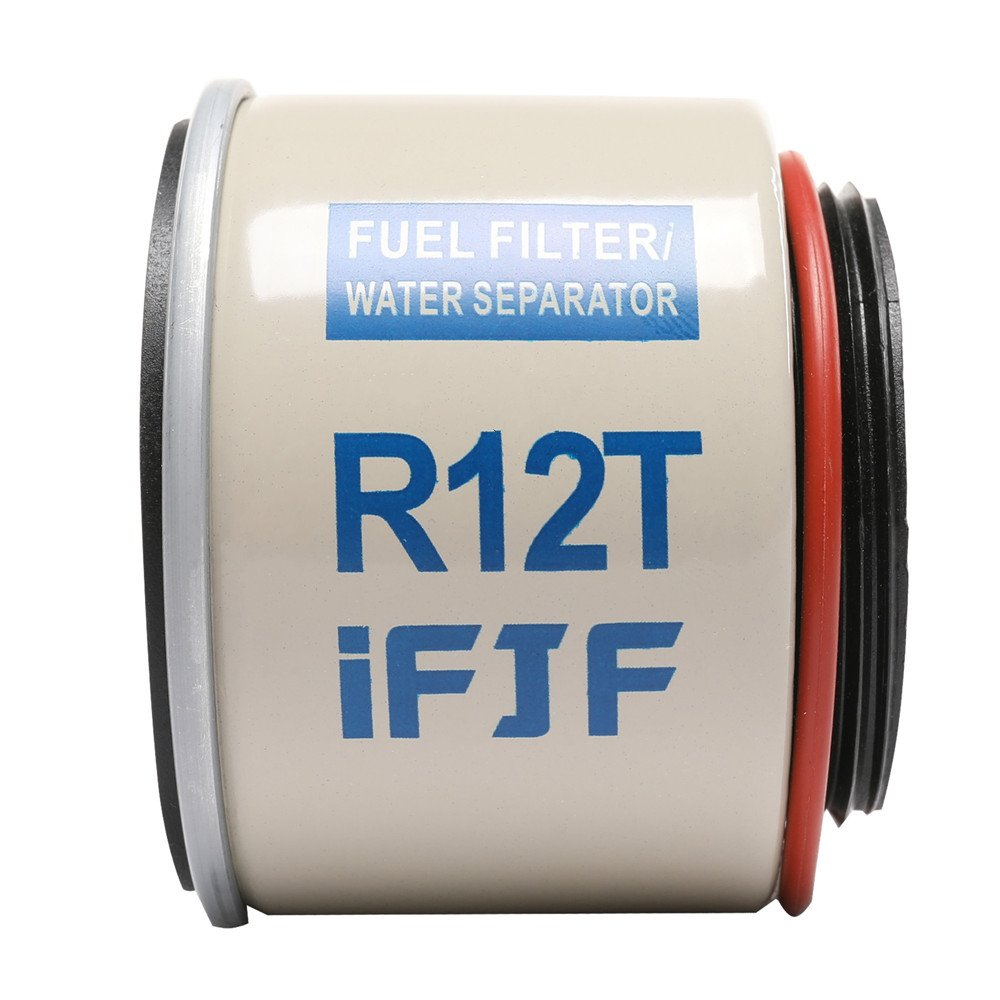 Kipa R12t Fuel Filter Water Separator 120at Npt Zg1 4 19 With Spin On Housing Fitting