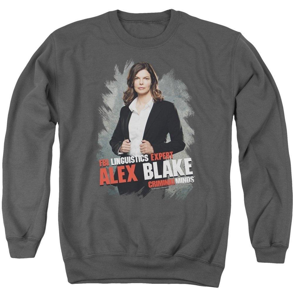 Alex Blake Adult Crewneck Sweatshirt Criminal Minds