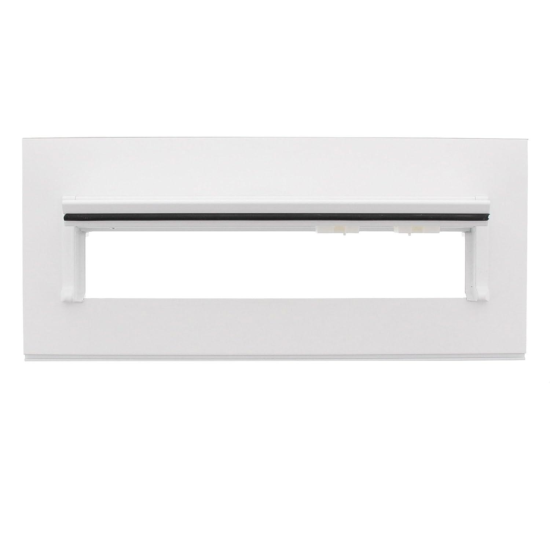 Stahl Blende 794 Si Silber Einwurfblende mit Namensschild BURG-W/ÄCHTER