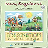 Mary Engelbreit's 40th Anniversary Collectible Print with 2017 Wall Calendar