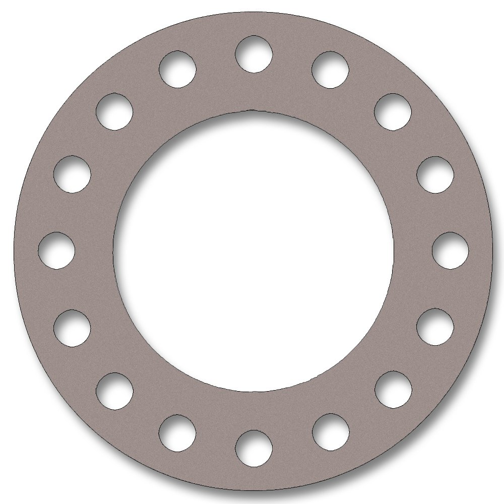 Pack of 5 Pressure Class 300# 1//8 Thick Virgin Teflon 2 Pipe Size PTFE Sterling Seal CFF7530.200.125.300X5 7530 Full Face Gasket White