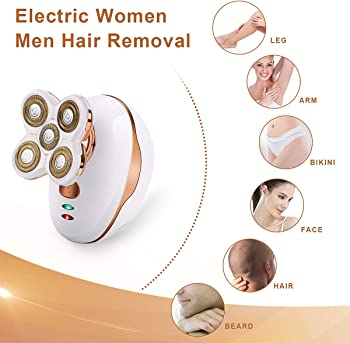 CCFADD Women Hair Removal Electric Shaver