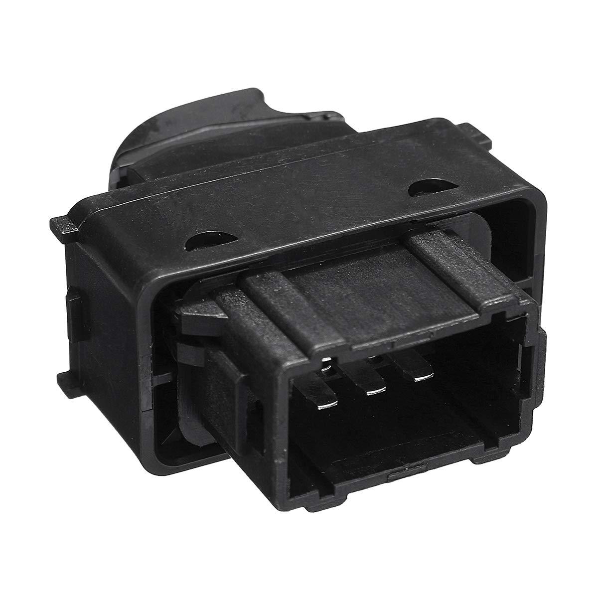 JenNiFer Interruptor De La Ventana del Bot/ón De Control De Potencia Delantero Izquierdo para Peugeot 207 Y para Citroen Berlingo