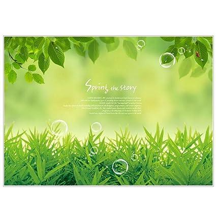 Ukbiology1 Pc Home Decor Vert Herbe Haute Qualité Décor Durable