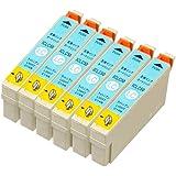 mita エプソン ICLC50 互換インク 6個パック(ライトシアン)