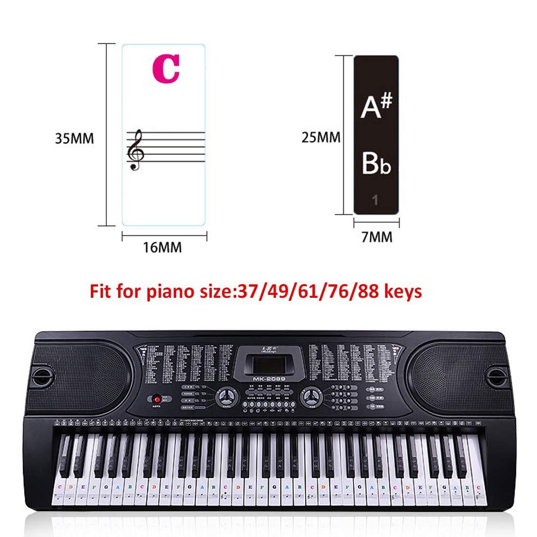 Coloré Chaussettes Avec Piano Clavier