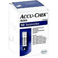 Accu Chek Blutzuckerteststreifen, 1er Pack (1 x 50 Stück)