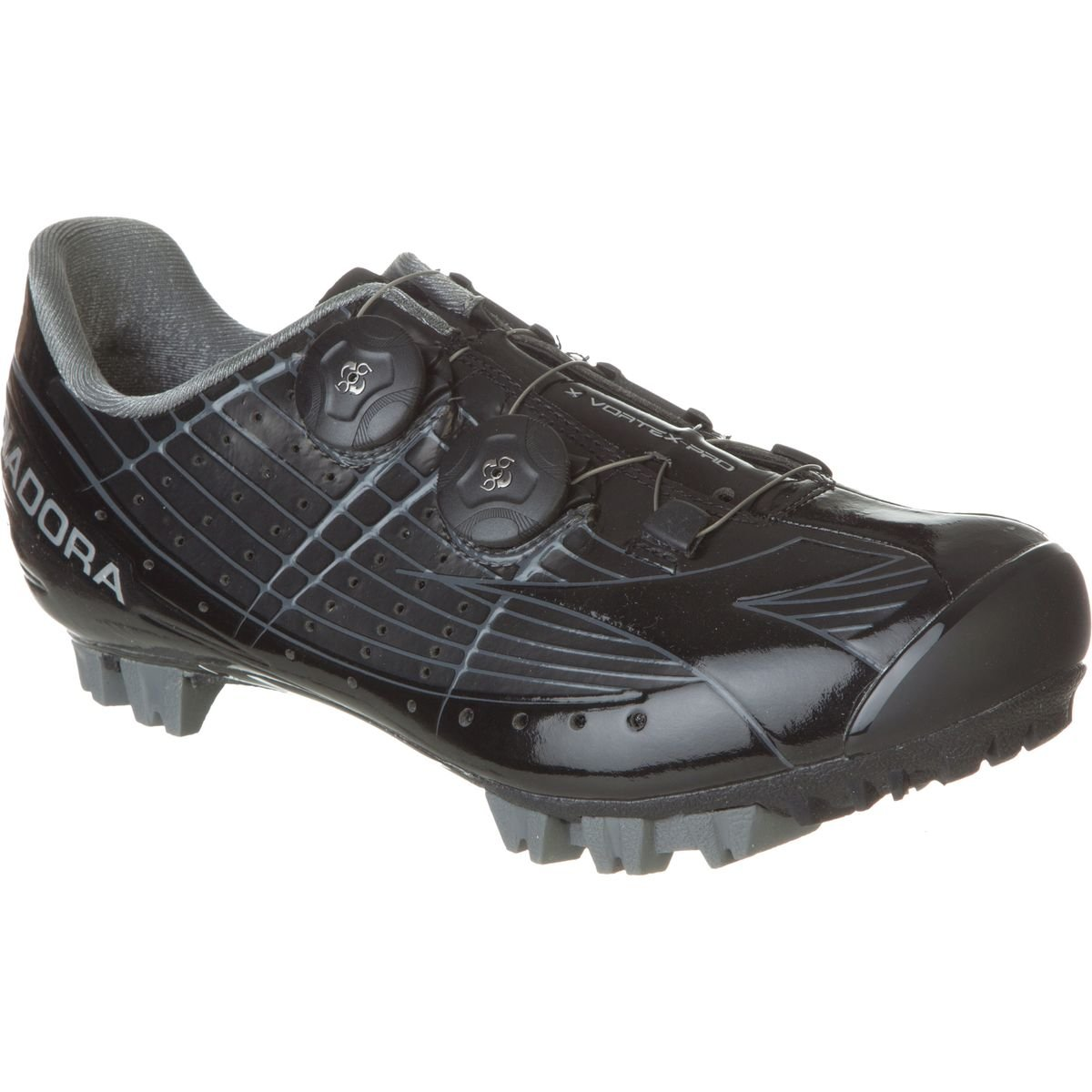 Diadora x-vortex Pro Shoes – Men 's 48 ブラック/ブラック B00TXMM9SW