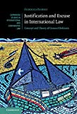 Justification and Excuse in International Law: Concept and Theory of General Defences (Cambridge Studies in International and Comparative Law)