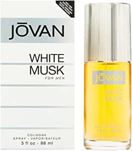 Jovan White Musk 88ml Eau De Cologne, 0.5 Kilograms