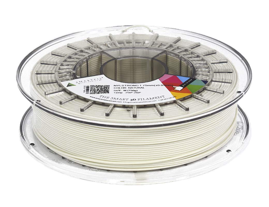Smart Materials smnyl1nt0a075Materialien Printserver 3D, nylstrong, 2,85mm, natur