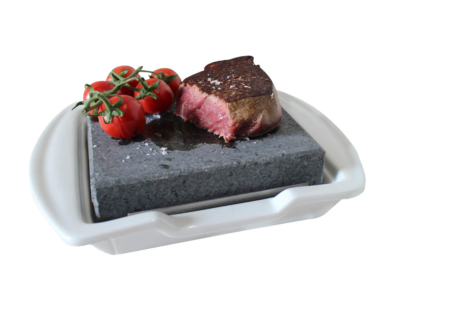 0d8811b3ce9a Steak on The Stone and Plate Set  Amazon.co.uk  Kitchen   Home