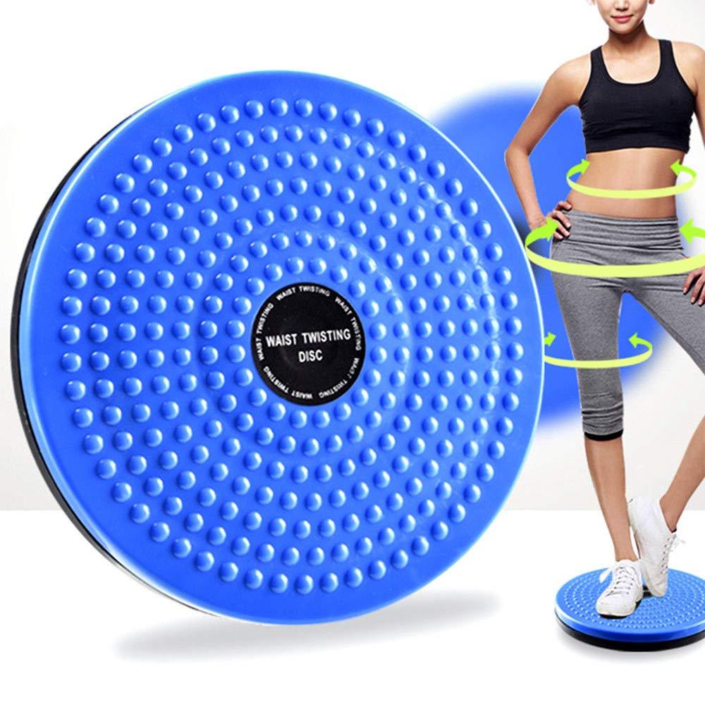 GFEU Balance Exercise Twist Board, Rotating Non-Slip Twist Waist Torsion Disc Board Safety Balance Cushion for Waist & Hips Fitness Foot Massage Wobble