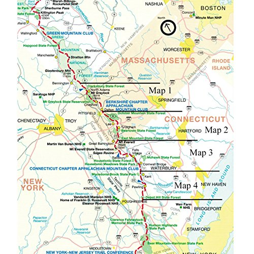 Amazon.com : Official Machusetts and Connecticut Appalachian ... on sloatsburg map, hiking map, long trail map, north country trail map, blue ridge mountains map, rowayton map, alabama trail map, john muir trail map, mokelumne coast to crest trail map, aska trail map, florida trail map, appalachian mountains map, continental divide trail map, bigfoot trail map, allegheny trail map, mississippi river map, blue ridge parkway map, great appalachian valley map, great smoky mountains national park map, grand enchantment trail map,