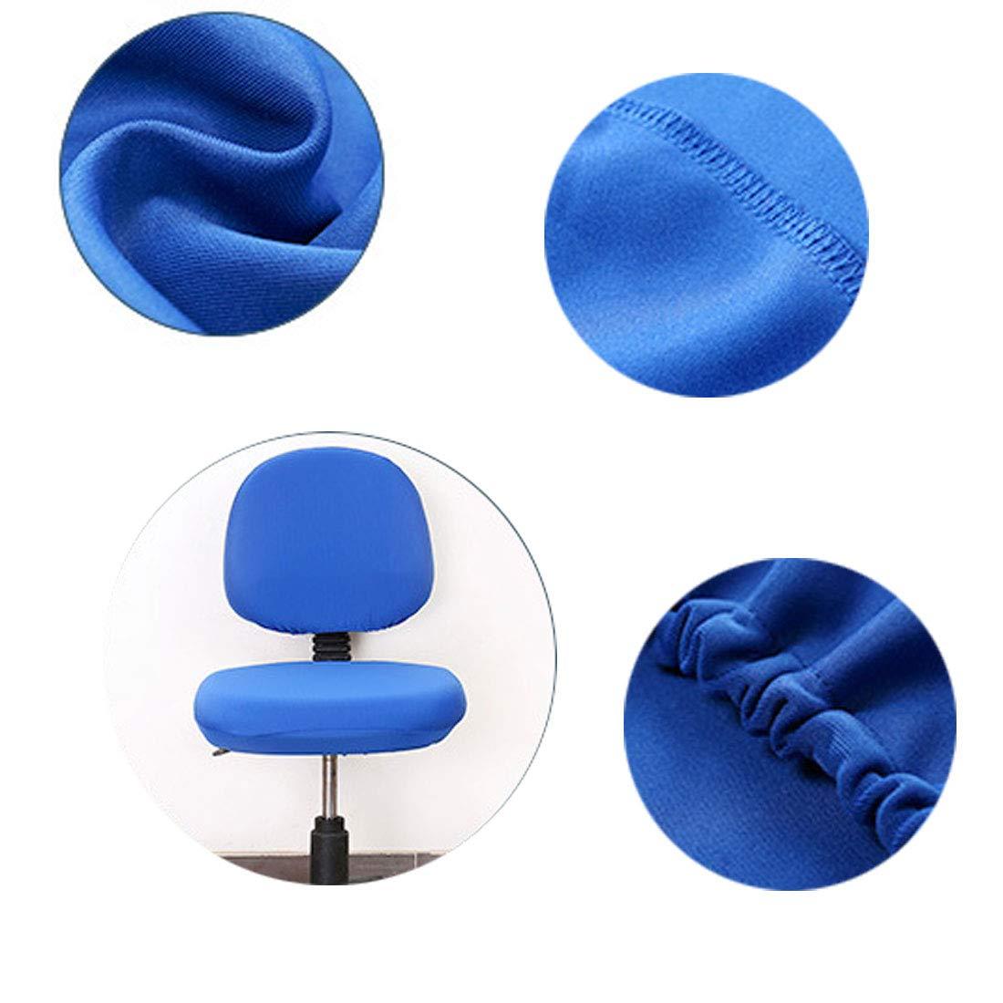 Levoberg Housse Chaise de Bureau Extensible Housse de Chaise Ordinateur Protection D/écoration Rose