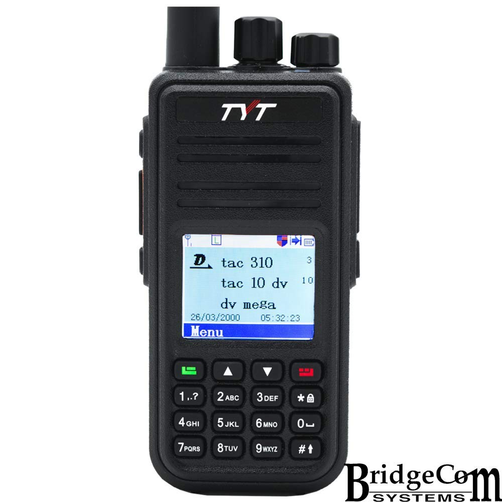 136-174MHz 400-480MHz TYT MD-UV380 Dual Band W//GPS and Free Programming Cable VHF//UHF