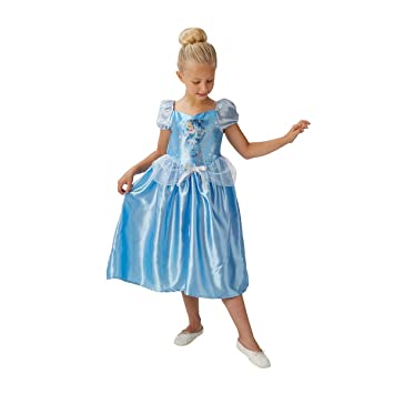 2e16b4551a9db Rubie's Official Girl's Disney Princess Fairy Tale Cinderella Costume -  Small ...