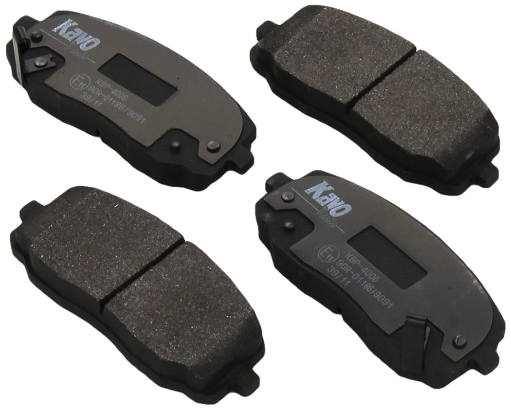 Set of 4 Brembo P30033 Rear Disc Brake Pad