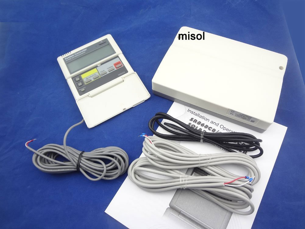 MISOL CONTROLLER of SOLAR WATER HEATER / 3 SENSORS / 12V / for Split Pressurized Solar Water Heater