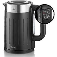 Hervidor Agua Electrico 2200W - Ajuste de Temperatura 50-100ºC - Tetera Electrica Twinzee 1,7 Litros - Sin BPA - Apagado…