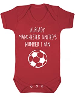 Baby Boy/'s Babygrow Bodysuit Vest Manchester City Biggest Fan Football Gift MCFC