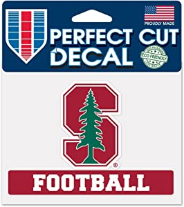 """WinCraft NCAA Stanford University WCR01213214 Perfect Cut Color Decal, 4.5"""" x 5.75"""""""