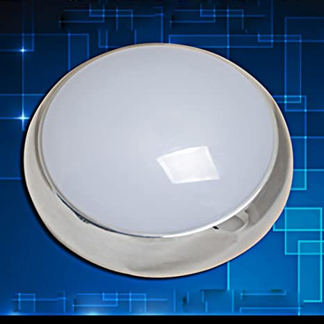 LáMpara LED Luz De Techo Blanca Con Sensor De Movimiento, Sensor De Cuerpo Humano Con