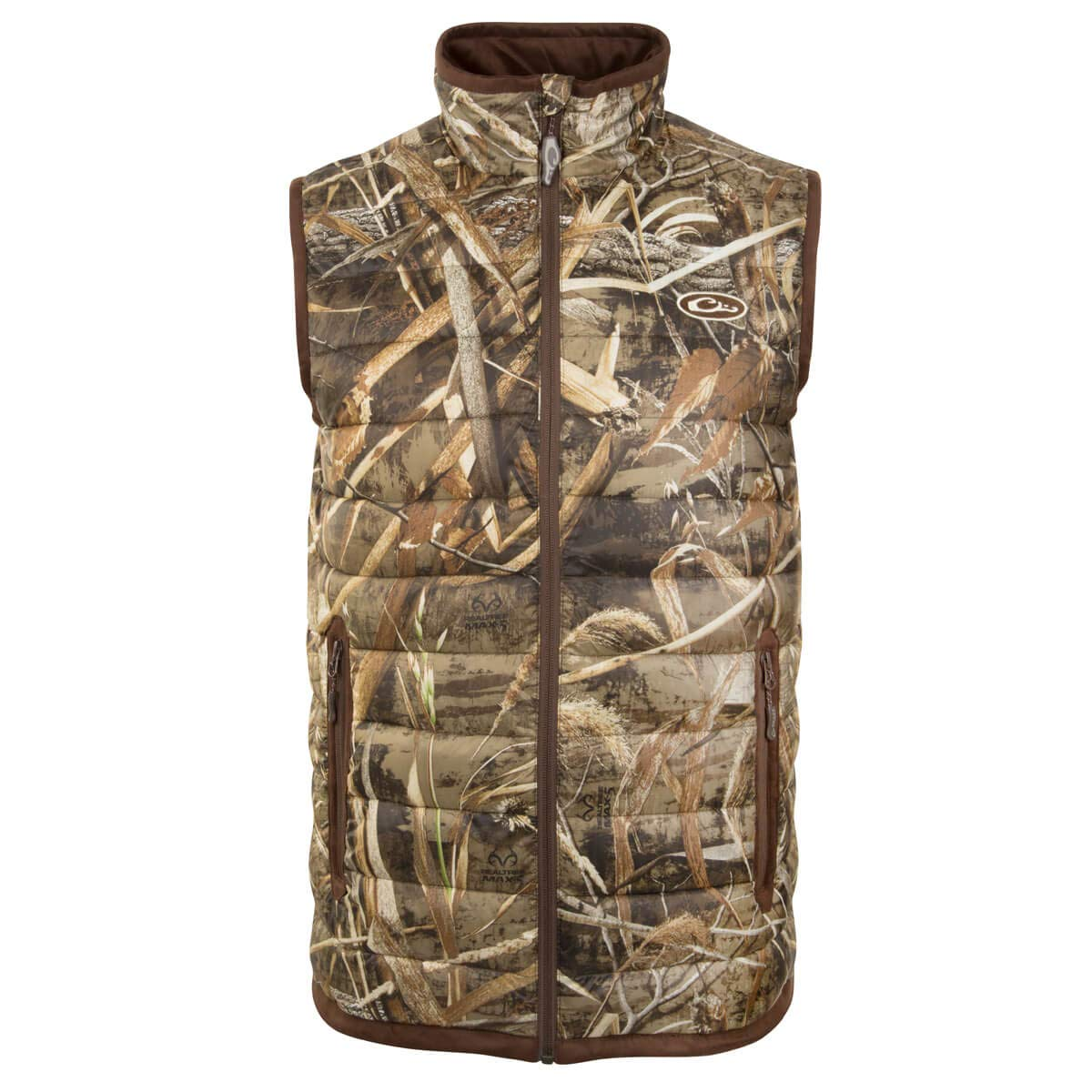 Drake Waterfowl LST Camo Double Down Layering Vest MAX 5 Small by Drake