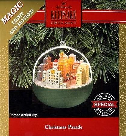 The Christmas Parade Hallmark.Amazon Com Hallmark Keepsake Ornament Christmas Parade 1992