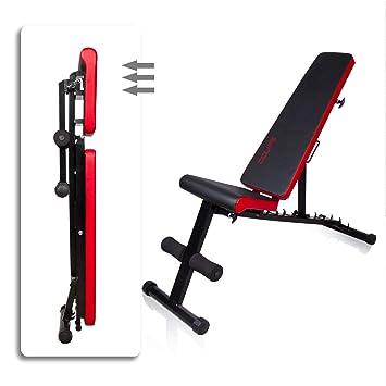 CCLIFE Banco de Musculación Multiposición Banco de Fitness o de ...