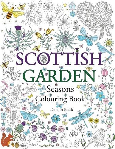 Read Online Scottish Garden Seasons: Colouring Book pdf
