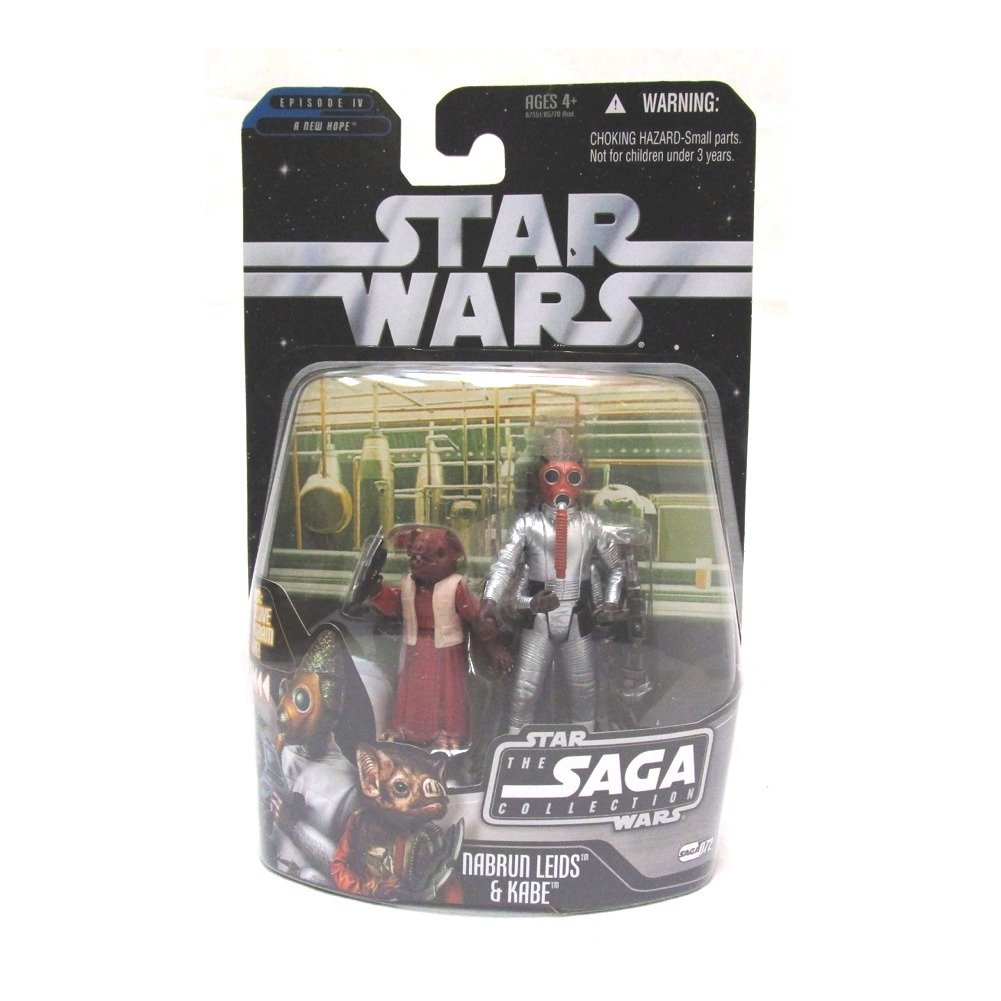 The Saga Collection Wave 10 Nabrun Leids /& Kabe Star Wars Action Figure 6616650000 #72