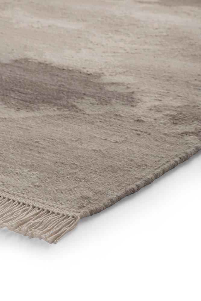 Esprit Teppich Denim Batik (80 x 150cm) in Braun - Reine Schurwolle - Florhöhe 6mm