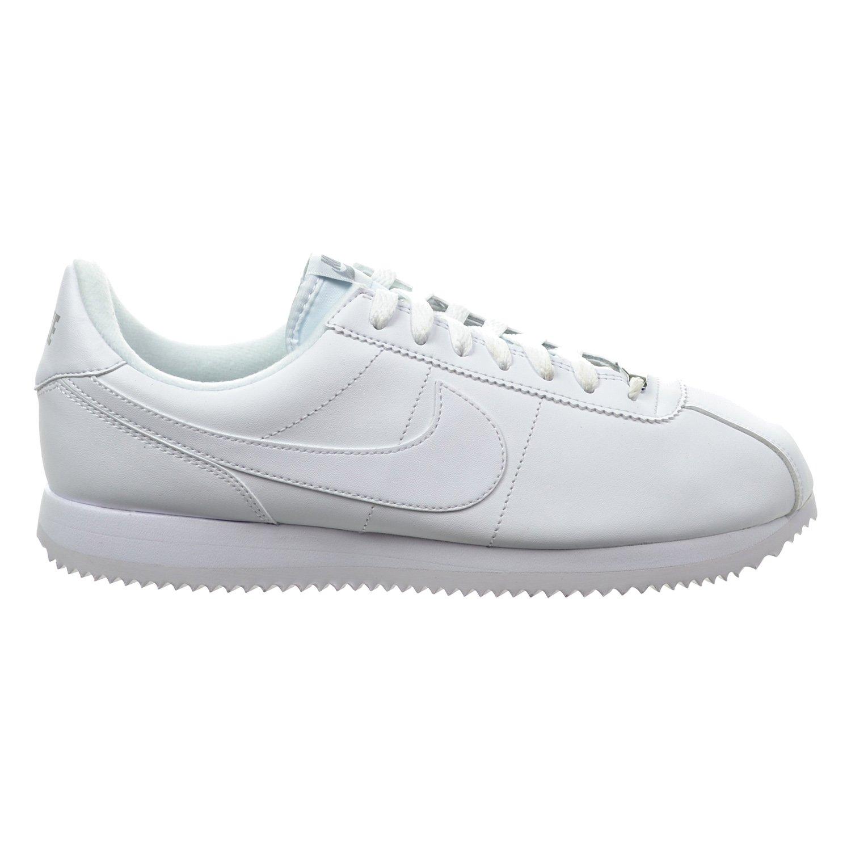promo code really cheap cute Amazon.com   Nike Cortez Basic Leather Men's Shoes White ...