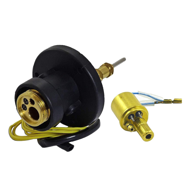 1 SET MIG/MAG CO2 Antorcha de soldadura Euro Conector y conector hembra Estilo Binzel: Amazon.es: Bricolaje y herramientas