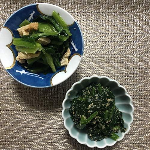 惣菜セット 国産ほうれん草ごま和え500g、国産 小松菜と油揚げのお浸し500g 約10人前×2 冷凍小分けOK