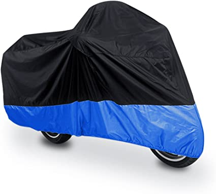 Heavy Duty Motorbike Cover 245 x 105 x 125 cm Waterproof Motorcycle Cover with perfect fit Motorbike Storage Velmia Motorbike Cover Outdoor /& Indoor - Scooter Cover Vespa Cover