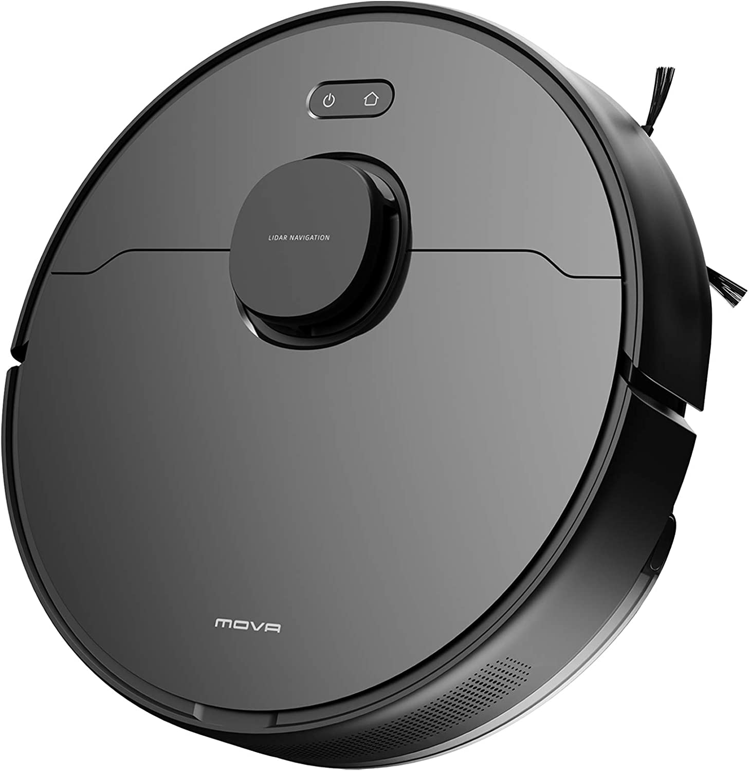 MOVA L600 Robot Vacuum and Mop, Lidar Navigation, Robot Cleaner with 4000Pa Strong Suction, Alexa, Wi-Fi, Smart Mapping, 5200mAh Large Battery, 2-in-1 Vacuum and Mop, for Pet Hair, Hard Floor, Carpet
