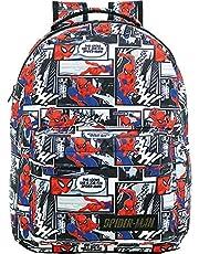 Mochila Spider-Man T4 - 9084 - Artigo Escolar Spider-Man, Multicolorido